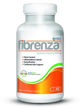 Amazon.com: HCP fórmulas fibrenza sistémico enzima – 500 mg ...