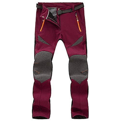 Impermeabile Trekking Spesse Inverno Di Merical Rosso Pantaloni Esterna Paio Dei Caldo Uomini Antivento qwxwfEgT