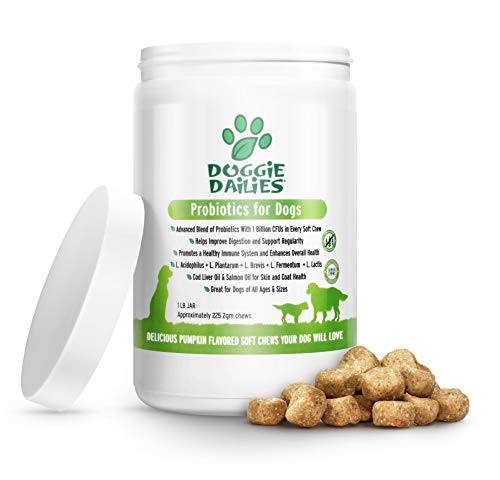 Doggie Dailies Probiotics for
