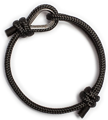 Top Quality Black Rope Nautical Bracelet for Stylish Men Photo #3