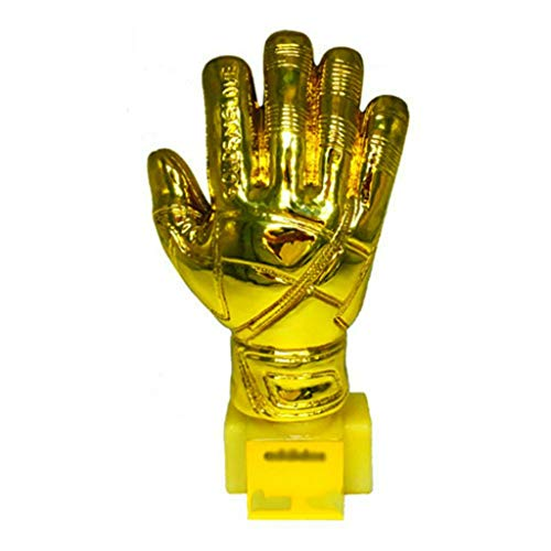 Sculpture Trophies Goalkeeper Trophy Gold Gloves Prize Family Creative Ornaments Athlete Trophy Fans Supplies Handmade, Resin Materials (Color : Gold, Size : 2613.5cm)