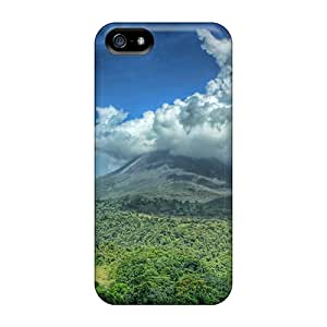 New The Arenal Volcanic Plume Tpu Case Cover, Anti-scratch Loveholiday Phone Case For Iphone 5/5s