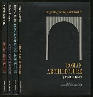 The Great Ages of World Architecture: Roman, Gothic, Baroque and Rococo, Modern (4 volume set)