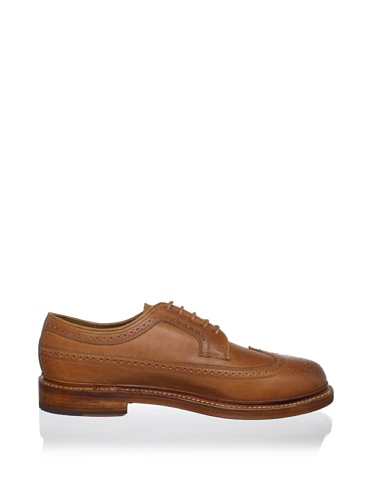 Florsheim Mens Vincent Wingtip, Brandy, 8 D Us