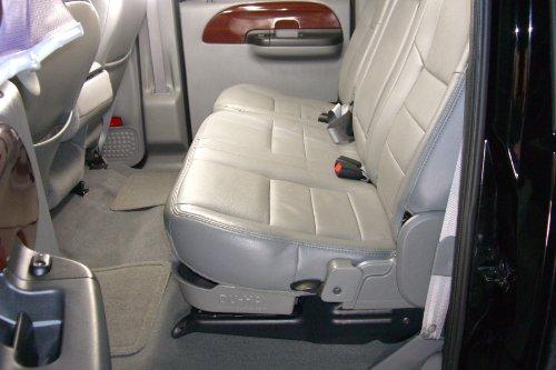 du ha under seat storage fits 11 16 ford f 250 thru f 550 super duty crew gray part 20094. Black Bedroom Furniture Sets. Home Design Ideas