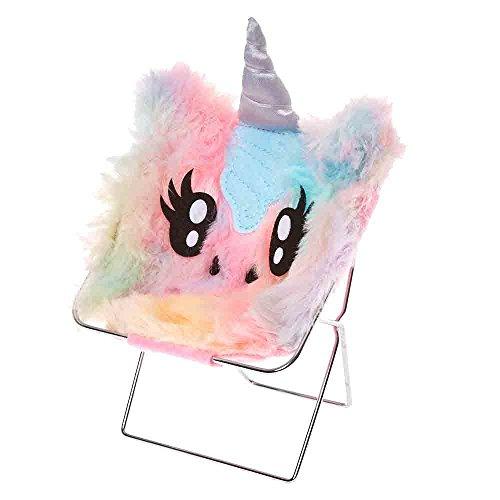 (Claire's Girl's Pastel Rainbow Unicorn Phone Holder)