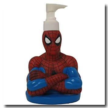 Spiderman Lotion Dispenser / Soap Dispenser