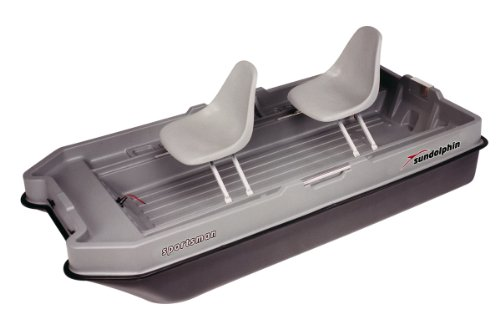 Two Man Fishing Boats (Sun Dolphin Sportsman Fishing Boat (Gray/Black, 8.6-Feet))