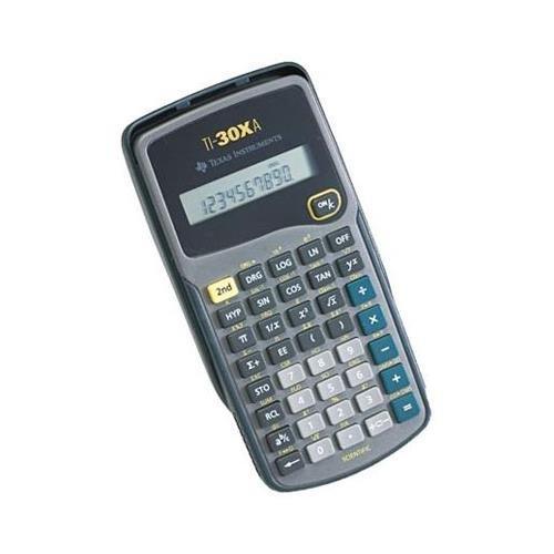 Texas Instruments TI30XA Scientific Calculator - 10 Character(s) - Battery Powered - 6 x 3.1 x 0.8 - Black