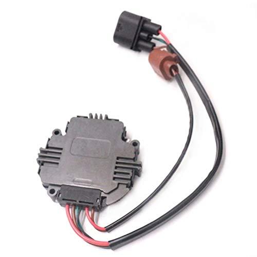 Lovey-AUTO OEM # 3C0959455F 3C0959455F Car Radiator Cooling Fan Control Module For VW GTI Golf Jetta for AUDI A3 TT 1TD959455/1K0959455FJ ()