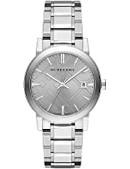 Burberry Small Check Stamped Bracelet Watch BU9035