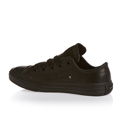 Shoes Trainers Star Taylor Black Chuck Classic Ox All Youth Monochrome Canvas Leather Converse SdTpAwqd