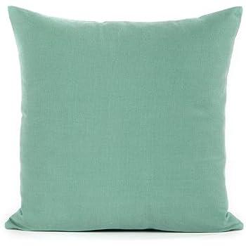 Amazon 40 X 40 Seafoam Green Throw Pillow Cover Home Kitchen Awesome Seafoam Decorative Pillows
