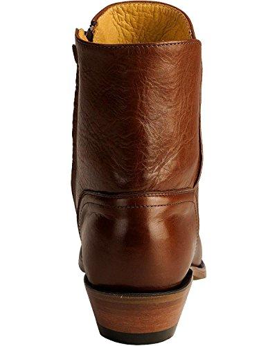 Bottes américaines - bottes western BO-8203-72-E (pied normal) - Homme - Marron