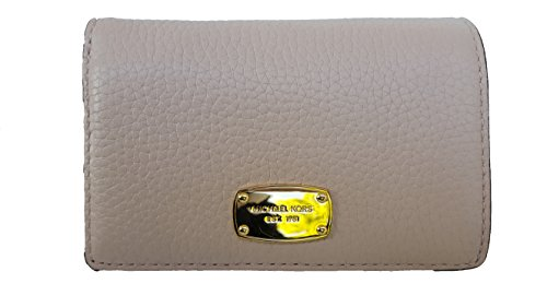 MICHAEL Michael Kors Medium Jet Set Travel Slim Wallet (One Size, Rose Pink/Gold/Rose Pink) by Michael Kors