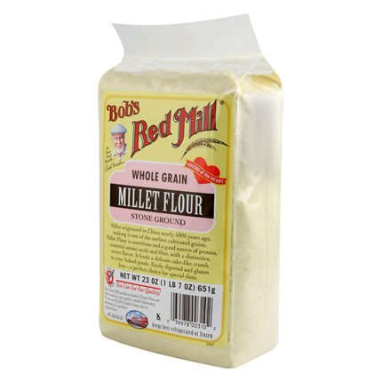 Bob's Red Mill Millet Flour Gluten Free 4x 23 Oz by BOBS RED MILL