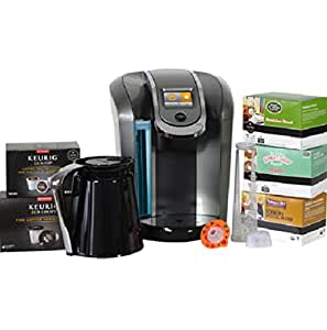 Keurig 2.0 K560 Brewer and Crafe, 48 K-Cup Pods and 4 K-Carafe Pods
