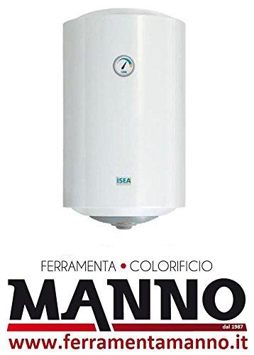 Calentador Calentador de agua eléctrico Isea FERROLI 50 L garantía 2 años Vertical: Amazon.es: Hogar