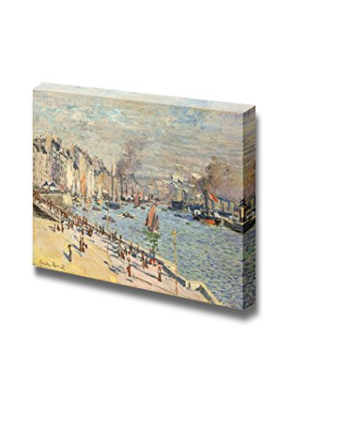 Port of Le Havre by Claude Monet French Print Famous Oil Painting Reproduction