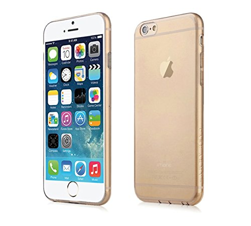 Apple iPhone 6/6S Plus [5.5] Clear Case, Case Army® Dust Proof Protection Scratch-Resistant Slim Soft Cover for iPhone 6/6S Plus Hard Back Soft Sides Bumper Silicone Rubber (Limited Lifetime Warranty)