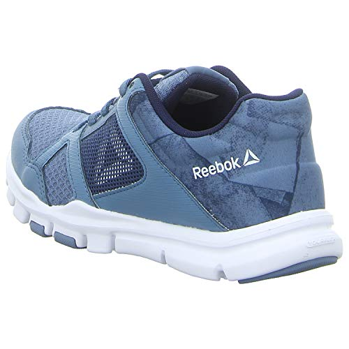 000 Mt Navy Scarpe collegiate Fitness Trainette Donna blue Reebok Slate 10 white Da Yourflex Multicolore wqP6nxt7f