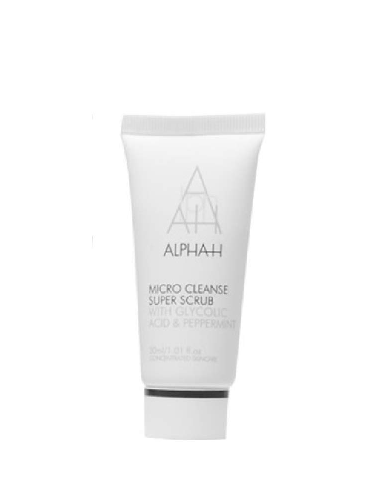 Alpha-H Micro Cleanse Super Scrub with Glycolic Acid and Peppermint 30 ml Alpha H