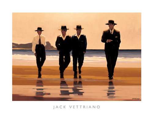 (The Billy Boys Jack Vettriano Romance Beaches Print 31.5x23.5)