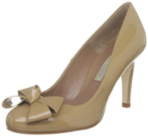 Aconite Cuero braun Marrón camel Vestir De Pied Para Zapatos Terre A Mujer SqWcWwgAax