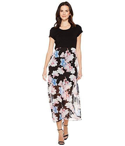冗談でアセンブリアボート[ヴィンスカムート] Vince Camuto レディース Short Sleeve Poetic Bouquet Chiffon Overlay Dress ドレス [並行輸入品]