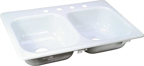 BOOTZ INDUSTRIES GIDDS-111058 Porcelain On Steel Sink
