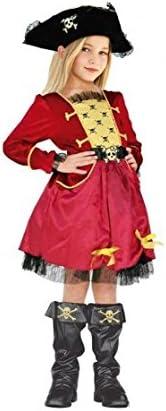 Disfraz Capitana Pirata niña Infantil para Carnaval (4-6 años ...