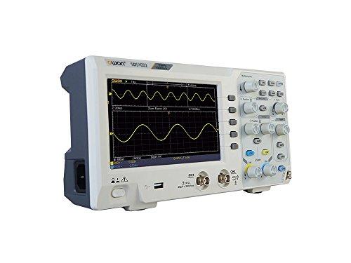 Dual Channel Oscilloscope (OWON Technologies SDS1102 Digital Storage Oscilloscope, Dual Channel 100 MHz 1GS/s, 7