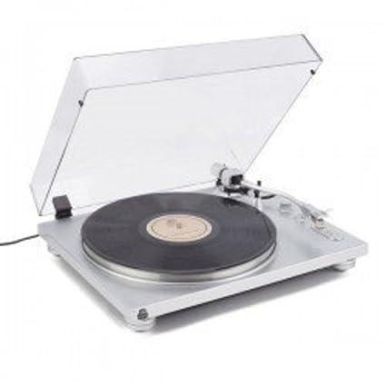 GPO Retro PR 100 Plata - Tocadiscos (Plata, 33,45 RPM, 420 ...