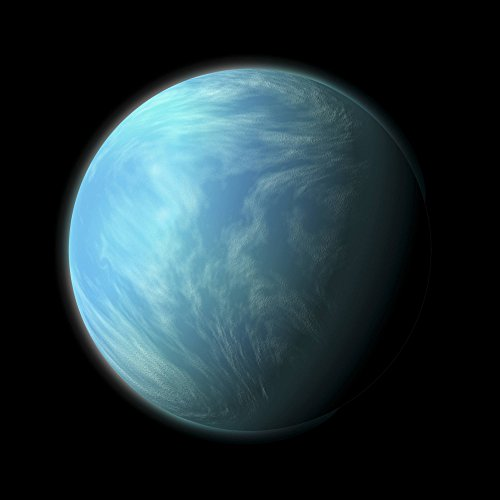 Walls 360 Peel & Stick Space Wall Decals: Artist's Depiction Of Kepler 22B (36 in x 36 in)