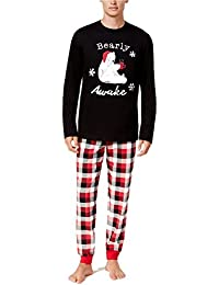 Matching Family Christmas Pajama Sets Plaid Lounge Wear Sleepwear For Mom Dad Baby Kids