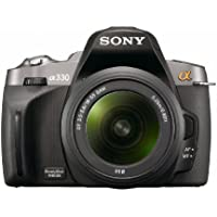 Sony Alpha A330L 10.2 MP Digital SLR Camera with  Super SteadyShot INSIDE Image Stabilization and 18-55mm Lens