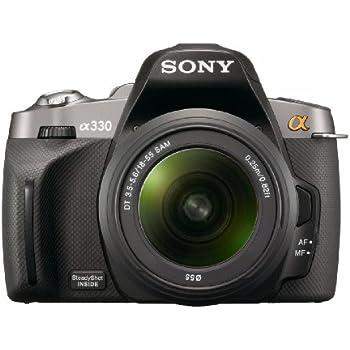 Sony Alpha A330L 10.2 MP Digital SLR Camera with  Super SteadyShot INSIDE Image Stabilization and 18-55mm Lens