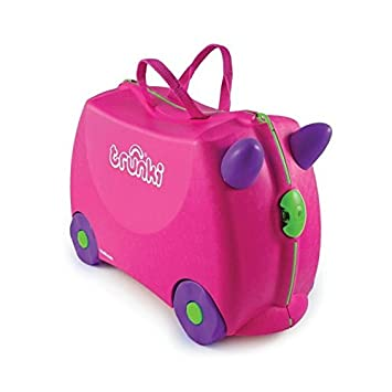 Trunki 10103 - Maleta Infantil con Ruedas, Color Rosa: Amazon.es: Equipaje