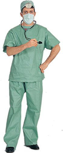 Halloween Mime Costume Ideas (Standard Size Men's Doctor Costume)