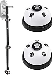 Dog Training Bells, [3 Pcs] Diyife Adjustable Loud Puppy Bells for Dog Training, Potty Bells for Dogs Puppy Tr