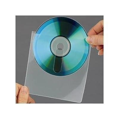 3L S683320 funda para discos ópticos - fundas para discos ópticos (Transparente, Polipropileno, 1 Discos, 16 cm, 6 cm)