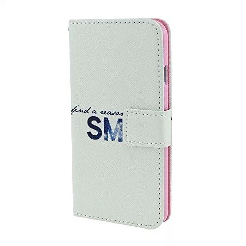 IPhone 6 4.7inch Housse en Cuir Wallet Flip Case -Yaobai Protecteur Wallet Shell Housse Coque Etui avec TPU Soft Skin Case Cover avec des fentes de carte de credit Pour Apple iphone 6