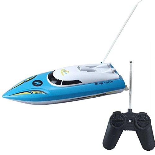 Binmer(TM)New 10 inch RC Boat Radio Remote Control RTR Electric Dual Motor (New Electric Radio Control)