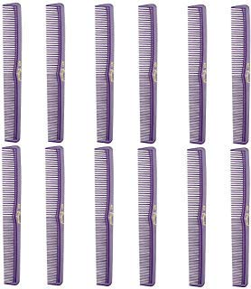 Barber Beauty Hair Cleopatra 400 All Purpose Comb (12 Pack) 12 x SB-C400-PURPLE