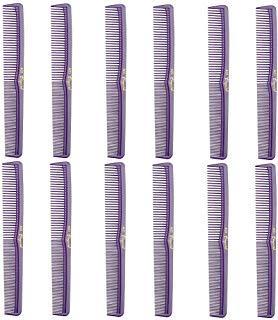 (Barber Beauty Hair Cleopatra 400 All Purpose Comb (12 Pack) 12 x SB-C400-PURPLE)