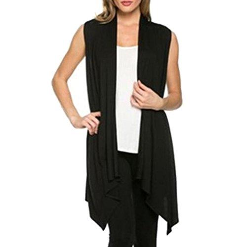 DDLBiz Irregular Sleeveless Shirt Cardigan