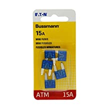 Bussmann BP/ATM-15 15 Amp Fast Acting Mini-Fuse