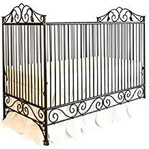 Bratt Decor casablanca crib distressed black