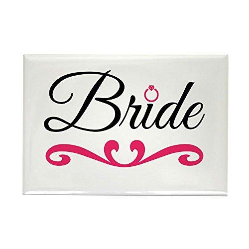 CafePress Bride Rectangle Magnet, 2