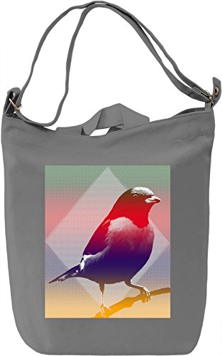 Graphic Bird Borsa Giornaliera Canvas Canvas Day Bag| 100% Premium Cotton Canvas| DTG Printing|
